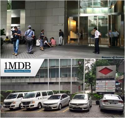 Polis Serbu Pejabat 1MDB Menara IMC